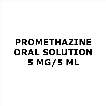 Promethazine Oral Solution 5 Mg-5 ML