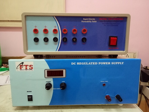 Rapid Chloride Permeability Testing Equipment (RCPT)