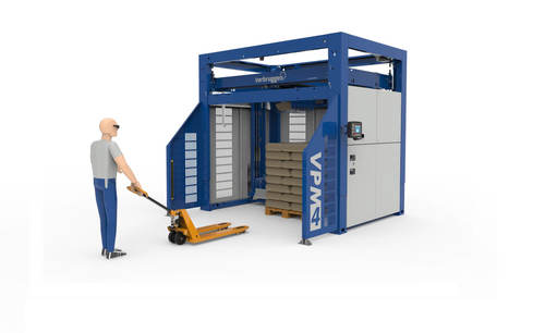 Palletizing System For Boxes
