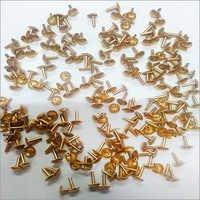 Gold Push Pins
