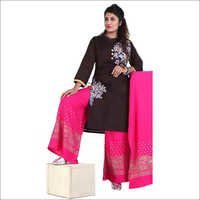 Ladies Partywear Palazzo Suit