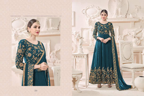 Georgette Full Embroidary Salwar Suit
