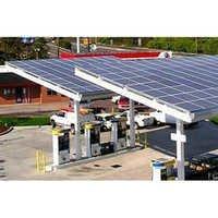 Petrol Pump Solar System