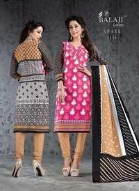 Cotton printed suits balaji spark vol-3