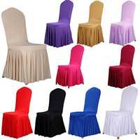 Fancy Satin Chair Cover