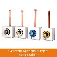 German Standard type Gas Outlet