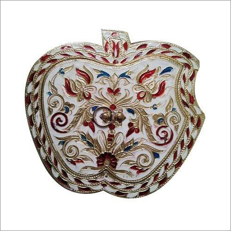 Apple Shape Dry Fruit Box