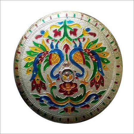 Round Designer Handicraft box