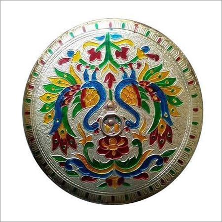 Round Designer Handicraft box