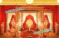 Fiber Carved Beautiful Mandap