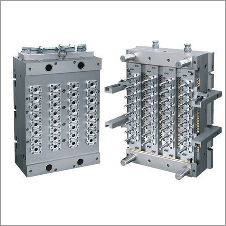 12 Cavity PET Preform Moulds