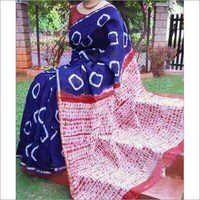 Hand Shivori On Chanderi Sarees