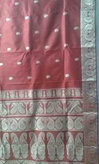 Bishnupuri Baluchori Silk Sarees