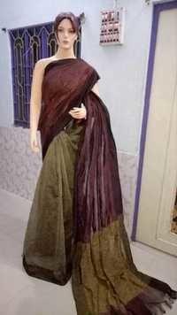 Hand Woven Linen Saress