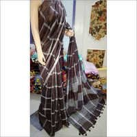 Pure Hand Woven Linen Saress