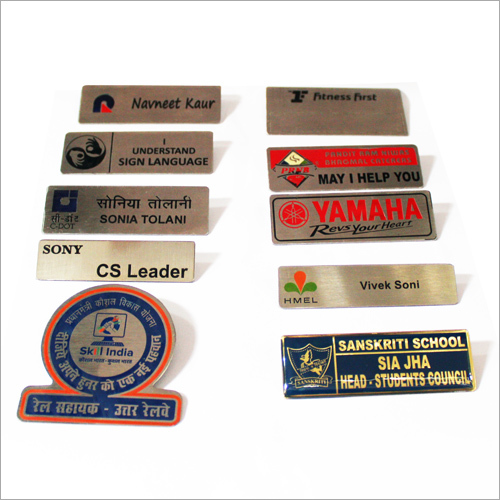 Personalized Name Tags