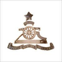Military Brass Badges