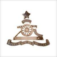 Military Brass Badges