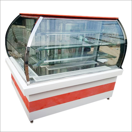 L Shaped Display Counter