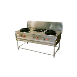 Two Plus One Chinese Range Burner