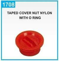 Taped Cover Nut Nylon With O Ring
