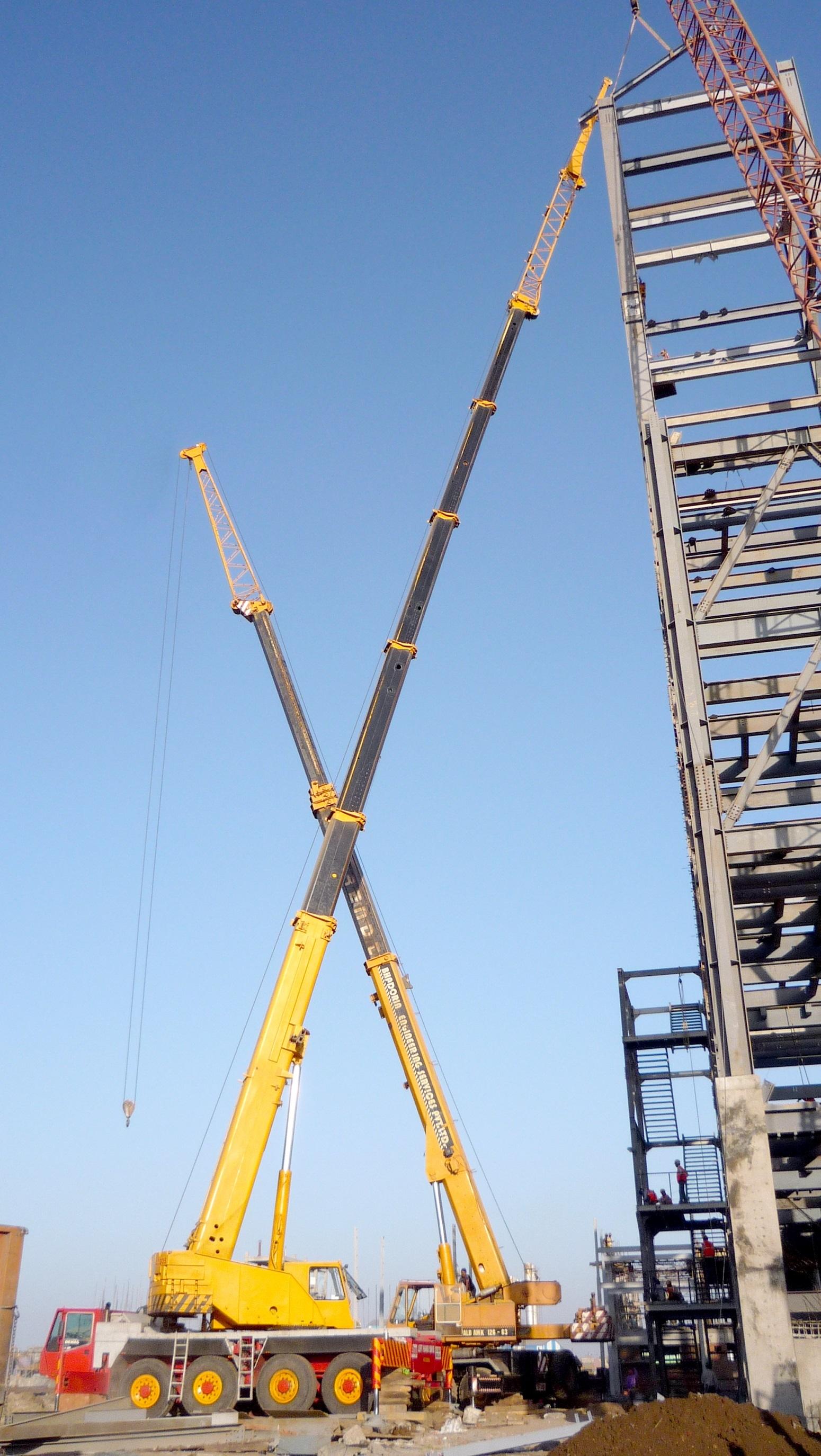 Telescopic Boom Cranes Services