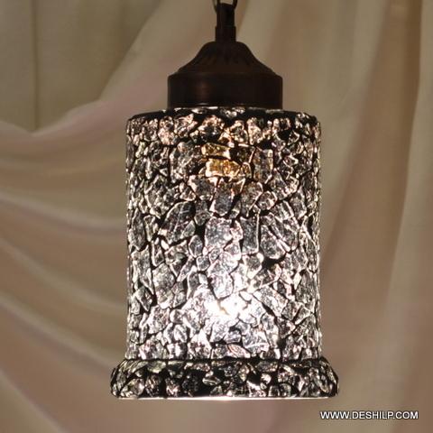 Vintage Antique Hanging Pendant Light