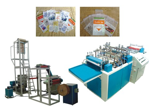 Zip Lock Extrusion Bag Making Machine