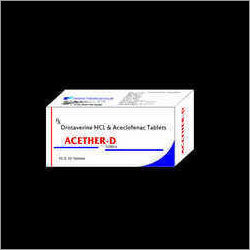 Drotaverine Aceclofenac Tablet
