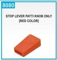 Stop Lever Patti Knob Only [Red Colour]
