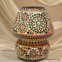 Glass Mosaic Table Lamp Jar Table Lamp Mercury Glass Table Lamp Design