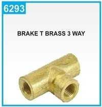 Brake T Brass 3 Way