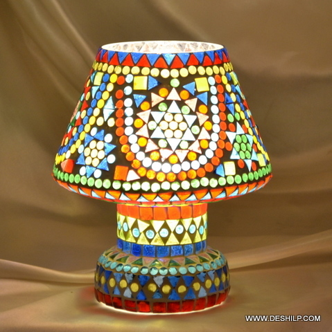 Designs Golden Table Lamp Turquoise Table Lamp Blossom Table Lamp