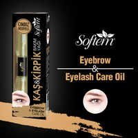 Eyelash Growth Serum Eyebrow Care Oil with Tweezers