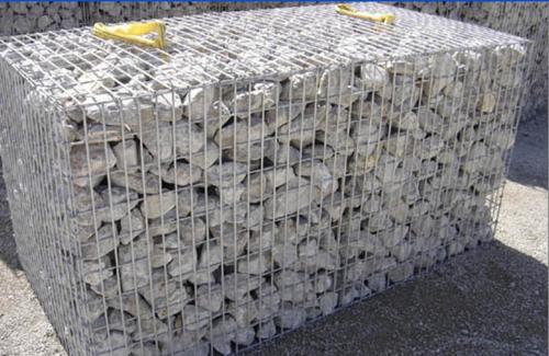 Welded Wire Gabions Rock Filled Gabion Box