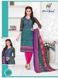 Cotton printed salwar suits baby doll by nand gopal