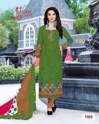 Cotton dress materials balaji spark vol-5