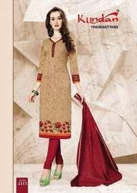 Cotton fabric dress materials kundan k4u vol-21