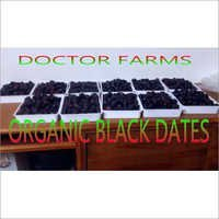 Organic Black Dates