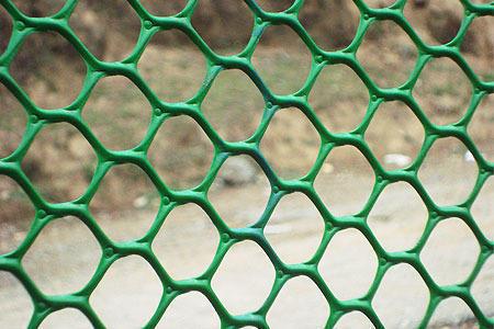 Plastic Hexagonal Mesh