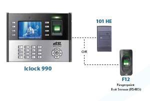 Attendance & Access Control System (Fingerprint)