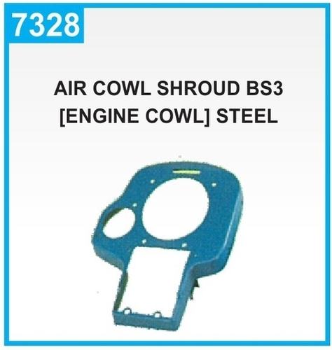 Piaggio Ape Eng. Cowling Air Duct & Exhaust System