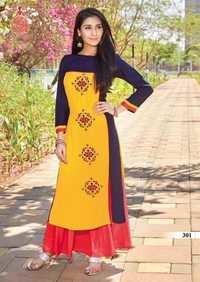 Cotton fancy kurti mariya'z collection vol-3 by kajal style