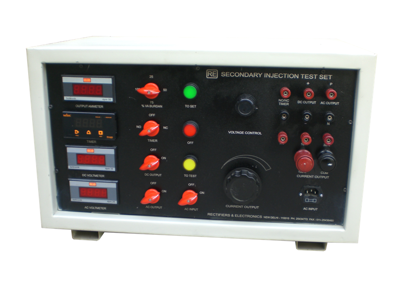 Secondary Current Injection Test Set - Single Phase Up to 100Amps