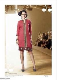 Cotton printed kurti show stoppers by ridhi