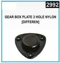 Gear Box Plate 3 Hole Nylon [Different]