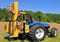 Hydraulic Auger Drilling Machine