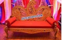 Paisleys Design Wedding Two Seater Sofa