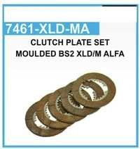 Clutch Plate Set Moulded BS2 XLD/M Alfa
