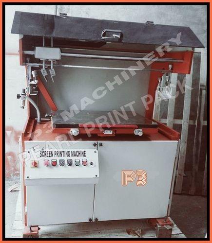 Delux Flat Screen Printing Machine